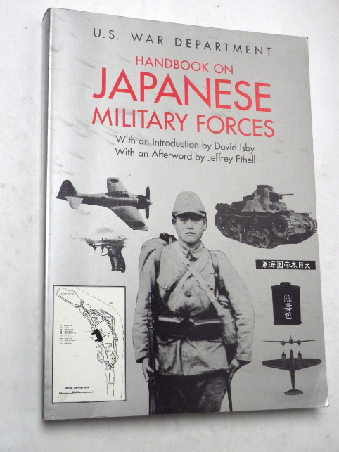 HANDBOOK ON JAPANESE MILITARY FORCES