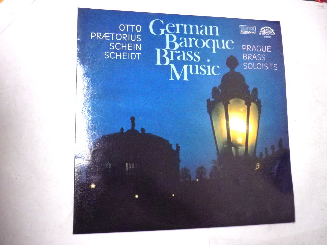 GERMAN BAROQUE BRASS MUSIC 2 LP