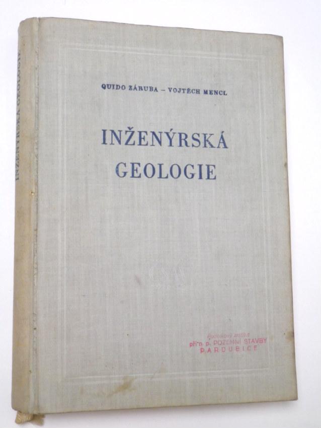 Záruba Mencl INŽENÝRSKÁ GEOLOGIE