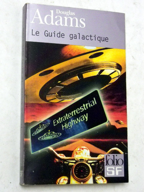 Douglas Adams LE GUIDE GALACTIQUE